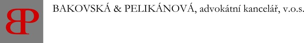Advokátní kancelář Bakovská Pelikánová